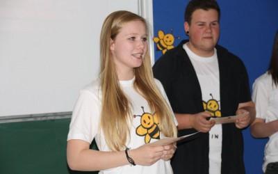 """Projekt """"Bienen und Honig"""" der 2AMW"""