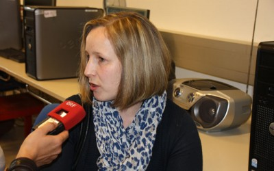 ORF-Radiointerview zum Bienenprojekt der 2AMW