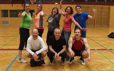 Volleyballmatches LehrerInnen gegen MaturantInnen