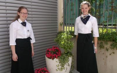 Blumendekor & more bei Abschlussprüfungen