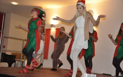 Schulweihnachtsfeier an der HLW