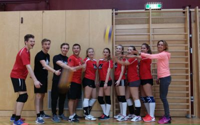 Volleyball-Mixed Bezirksmeisterschaften