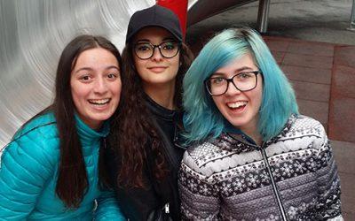 Italienische Gastschülerinnen an der HLW Wolfsberg