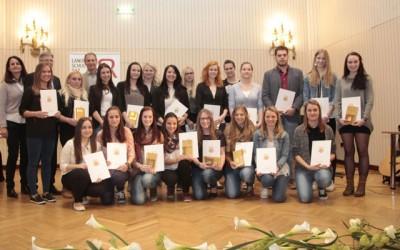 Urkunden für SchülerInnen mit Auslandspraktikum