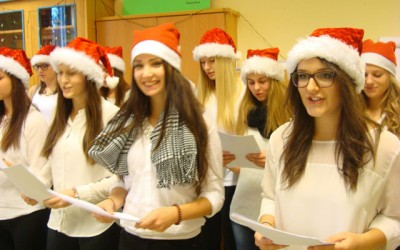 Weihnachtsfeier der 4BHW in der Psychiatrie Klagenfurt