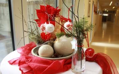 Vorweihnachtliche Dekorationen
