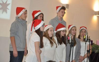 Schüler-Lehrer-Weihnachtsfeier