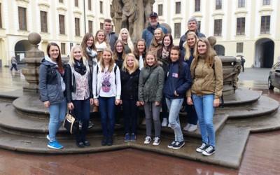 Reise der 5CHW nach Budweis, Prag, Theresienstadt