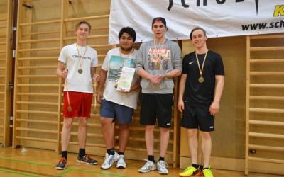 HLW-Erfolg bei Badminton-Landesmeisterschaft