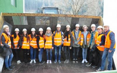 Exkursion im Rahmen des Projekts Klimaschulen
