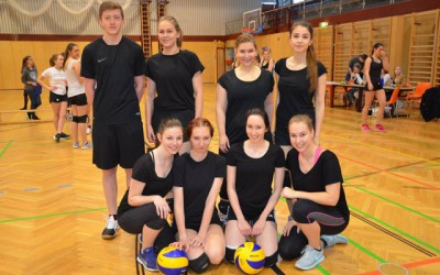 HLW-internes Volleyball-Turnier