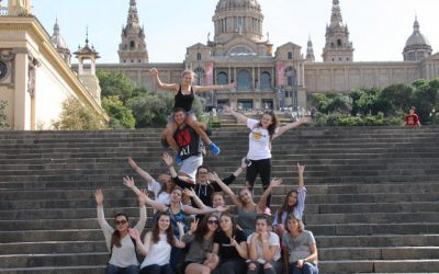 """""""Hola Barcelona"""" sagt die 3AMW"""