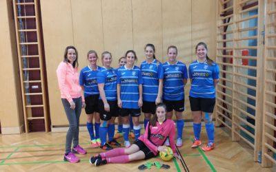 1.Platz für HLW-Girls bei Futsalmeisterschaft 2016