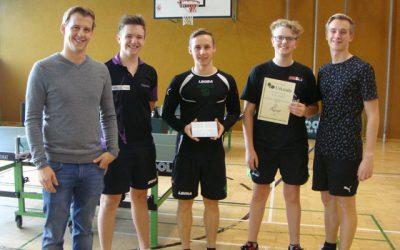 HLW-Burschen Bezirksmeister in Tischtennis
