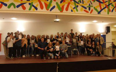 3AHW organisiert Team Battle in Schulzentrum