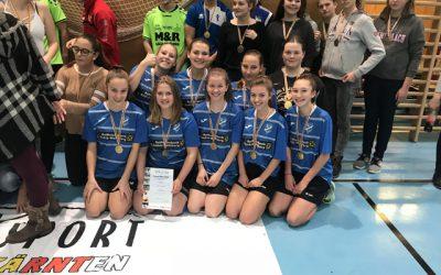 1. Platz für HLW bei Futsal-Landesmeisterschaft