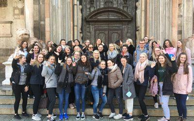 3AHW und 4AHW reisen nach Verona, Nizza und Cremona