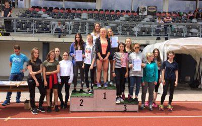 Schul Olympics-Leichtathletik 3-Kampf 17/18