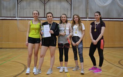 Badminton-Schulcup (Landesmeisterschaft) 2019