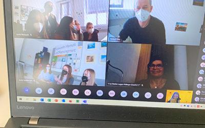 Virtueller Besuch der 4AHW bei Antenne Kärnten
