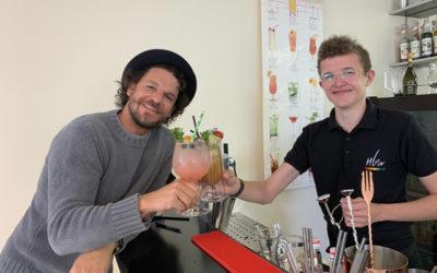 Cocktail-Weltmeister Barkeeper-Prüfer an HLW Wolfsberg